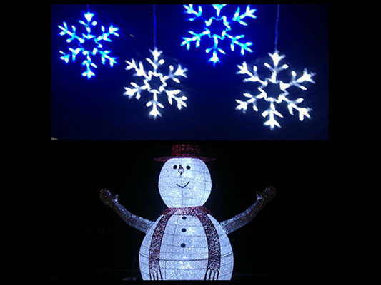 LED Snow and Snow Man Series